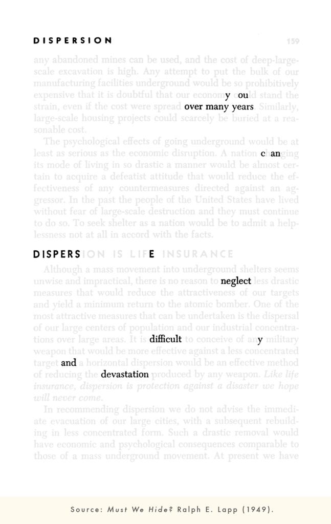 29 - Dispersion - Jenni B. Baker