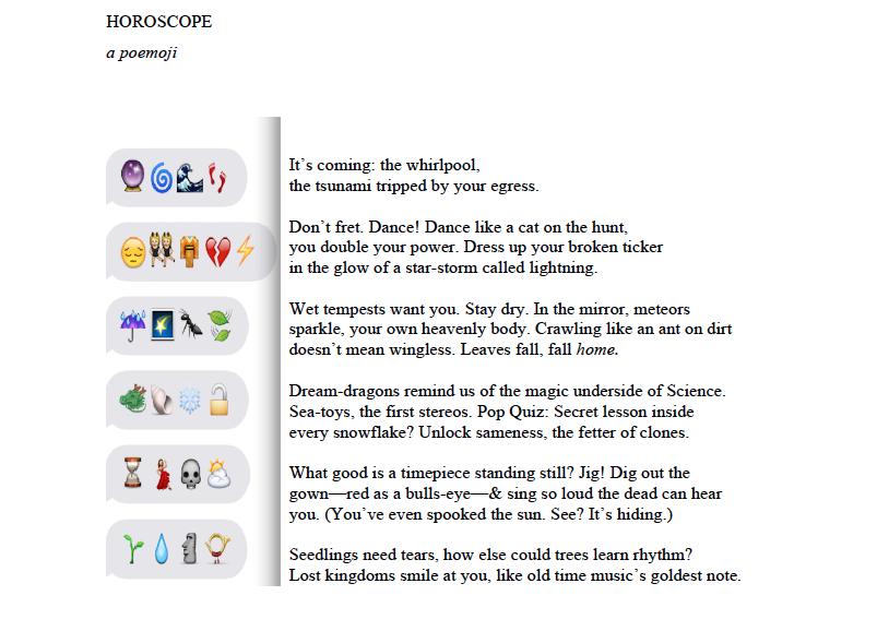 Margot Douaihy poemoji 11.15.15